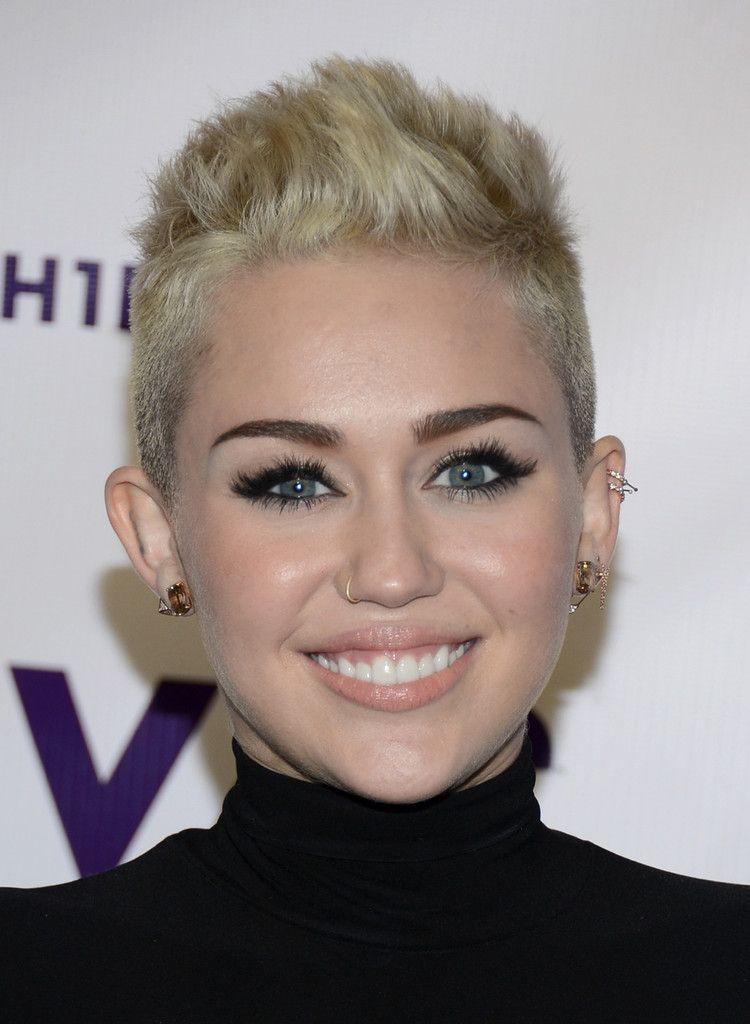 Miley Cyrus Fauxhawk Beautiful People Pinterest Miley Cyrus