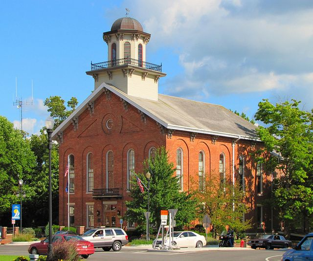 Steuben County Courthouse House Styles National Register Of