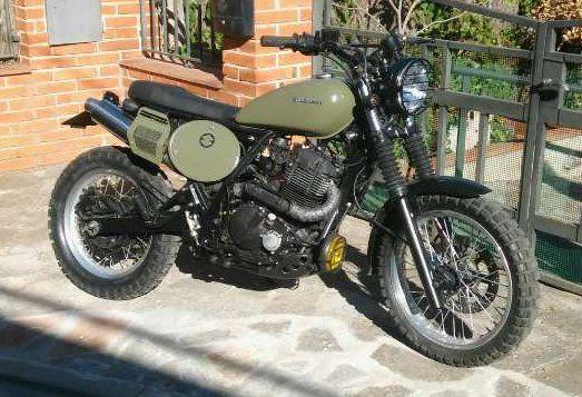 suzuki dr650 scrambler bikes suzuki cafe racer. Black Bedroom Furniture Sets. Home Design Ideas