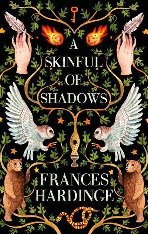 Image result for skinful of shadows book cover