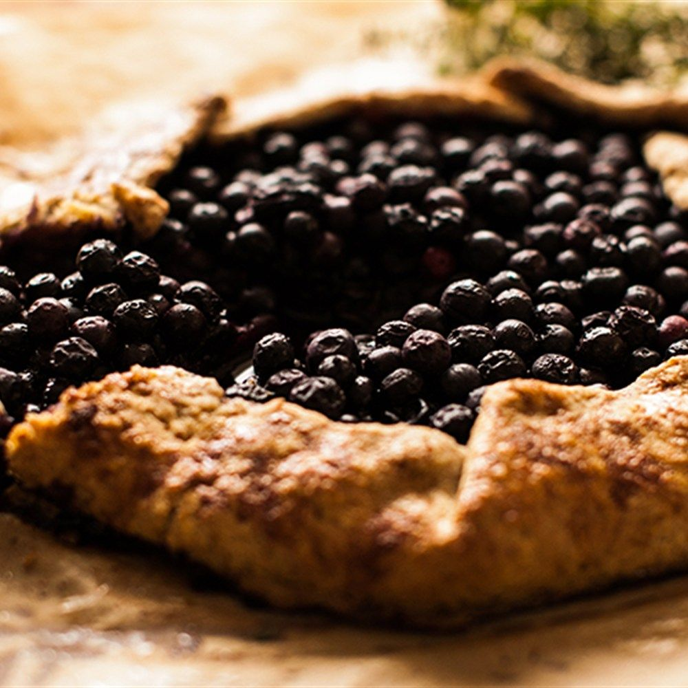 Try this Blueberry Galette recipe by Chef Anastasia Zolotarev.
