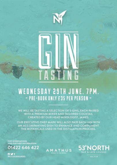 53 degrees gin tasting | Posters | Pinterest | Gin tasting