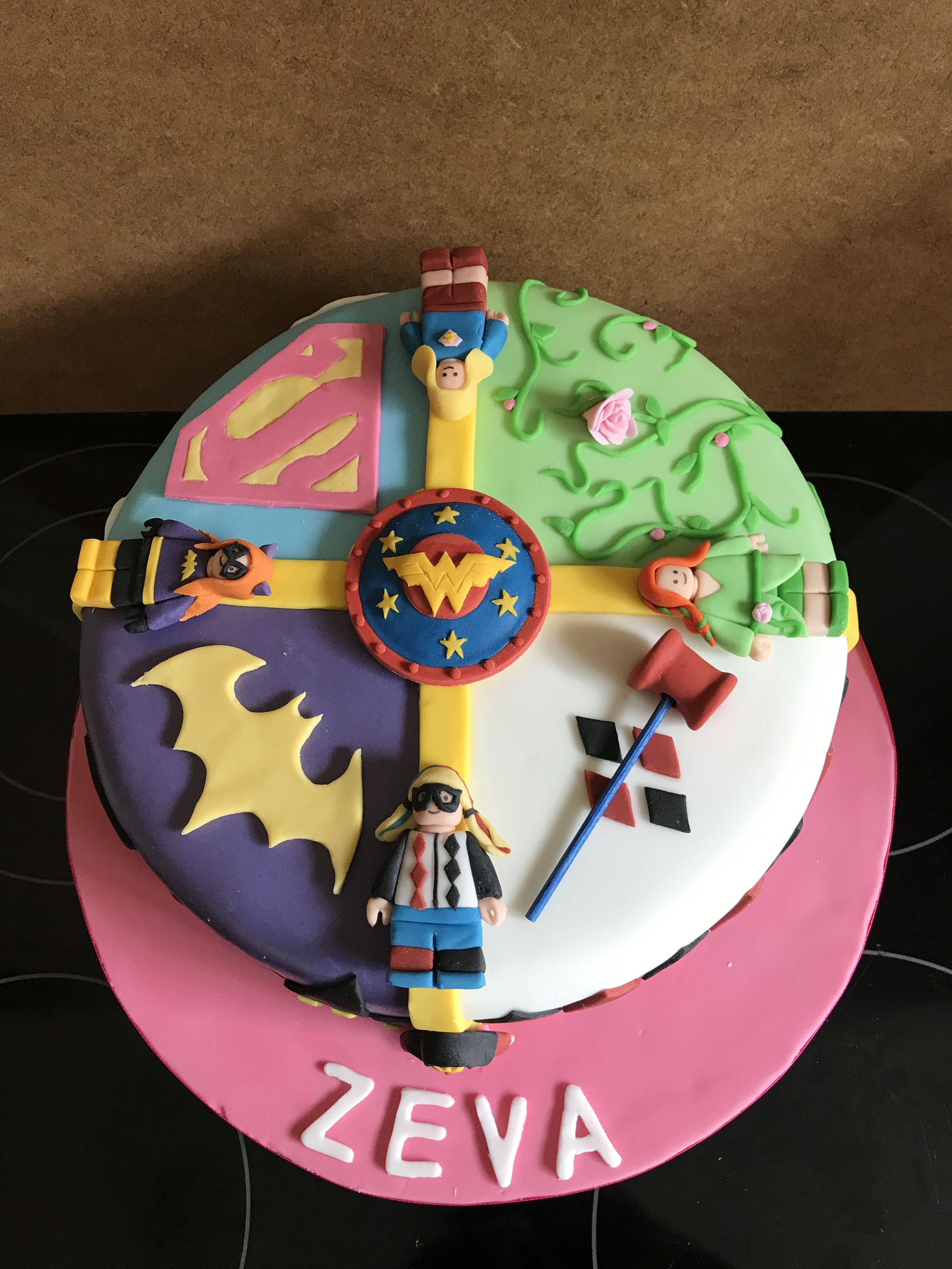 Dc Superhero High Girls Cake Birthday Super Hero