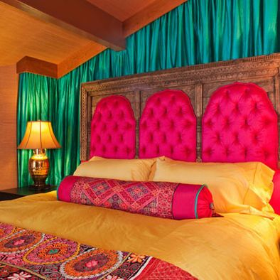 Great Love This Indian Inspired Bedroom!