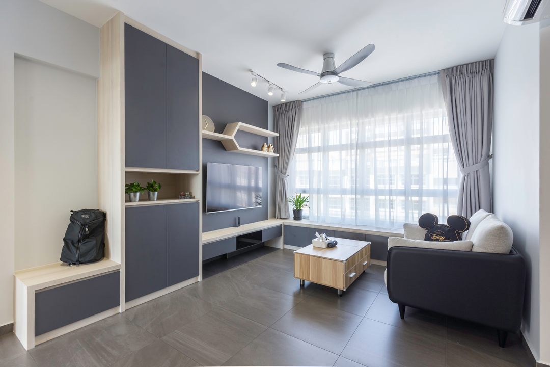 Pin By Shawn Lim On Hdb Living Interior Design Singapore