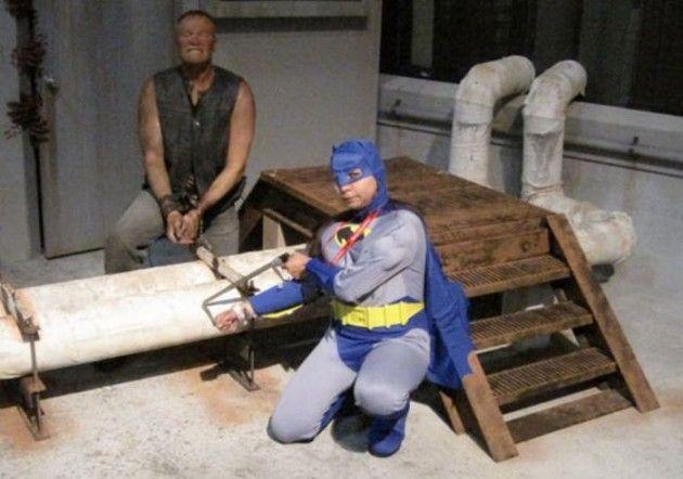 walking dead & batman crossover?