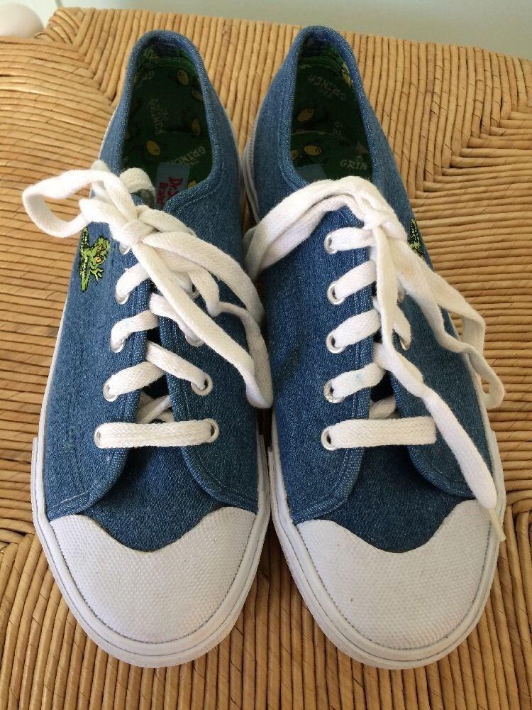 Dr Seuss Womens The Grinch Tennis Shoes