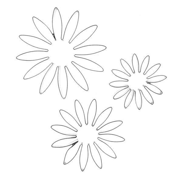 Daisy Stencil Flower Template Paper Quilling Patterns Paper Daisy