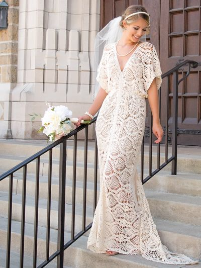 Everlasting Wedding Dress crochet pattern from Annie\'s Craft Store ...