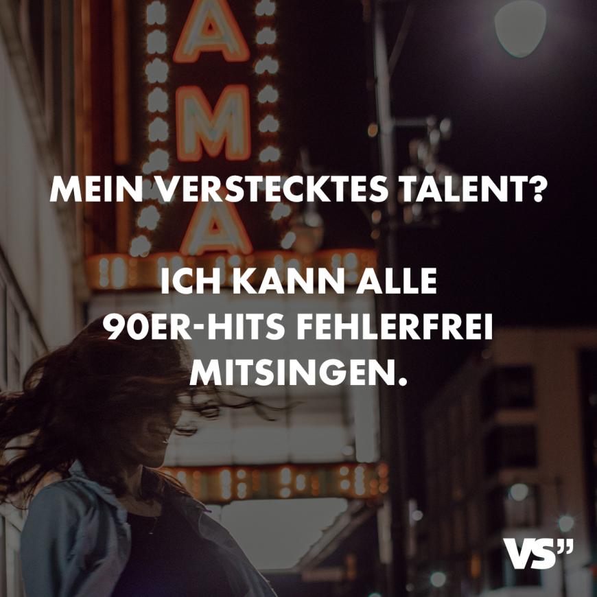 Visual Statements Mein Verstecktes Talent Ich Kann Alle