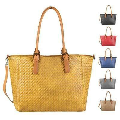 Photo of LADIES XXL HANDBAG Shopper Braided Tote Hobo Bag Shoulder Bag Shoulder Bag: …
