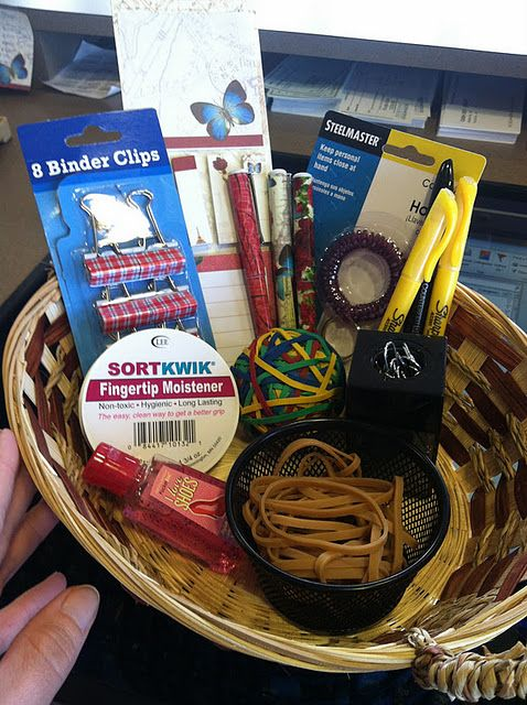 First day of work gift basket