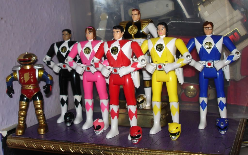 OMG I had them all! I freakin loved them! Power rangers