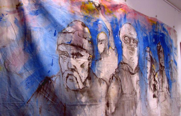 Maidan. Ukraine. Der Weg zur Freiheit. Ukrainische Dauerausstellung in Berlin.