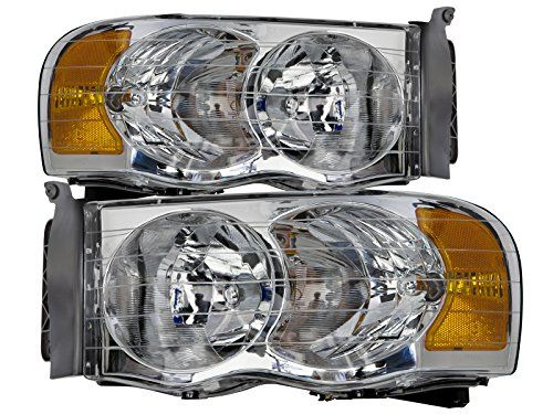 Dodge Ram 150025003500 Chrome Headlights Set Wxenon Bulbs Click Affiliate Link Amazon Com On Image For More Details Dodge Ram 1500 Dodge Ram Ram 1500