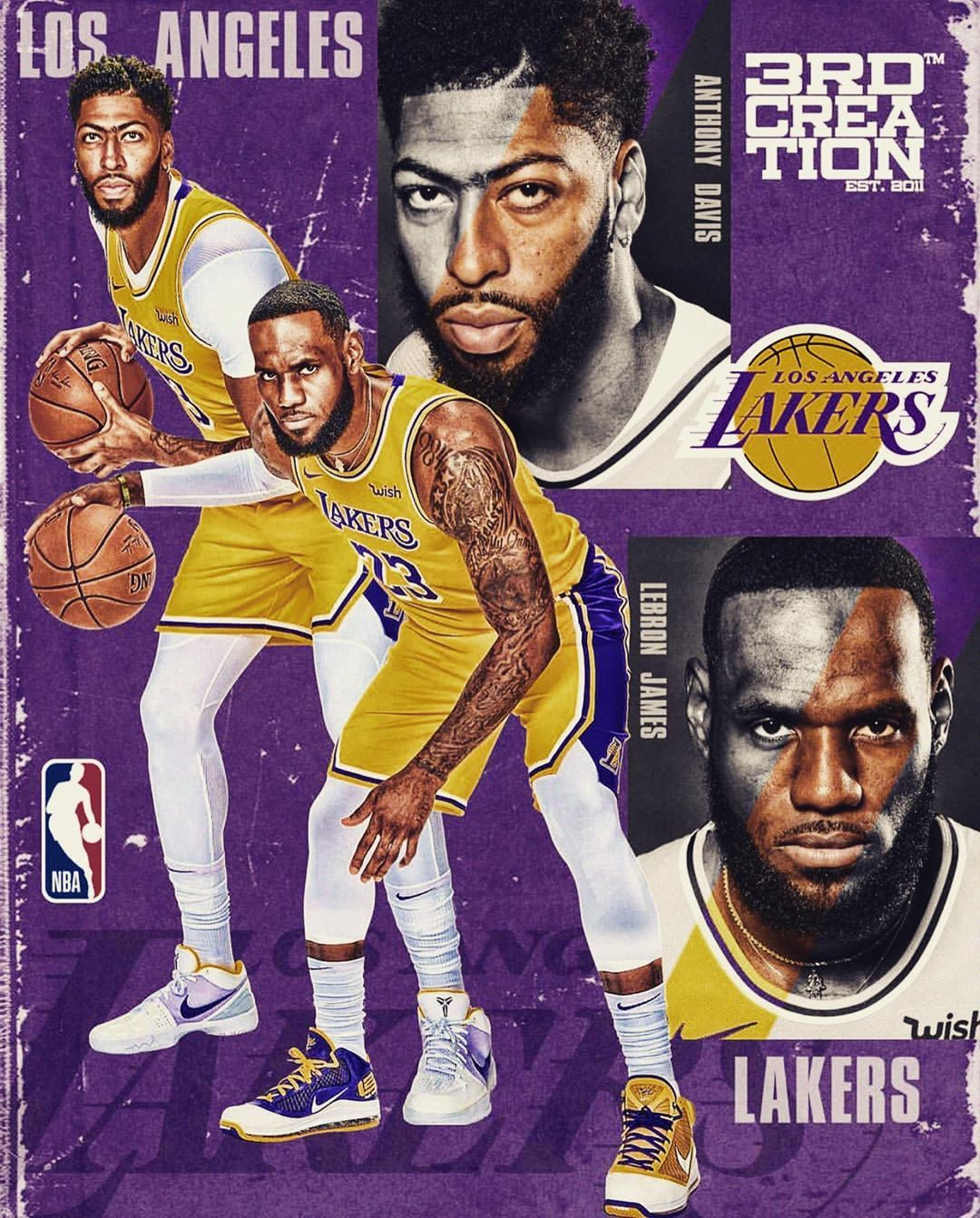 Lebron James On Instagram Do They Have The Potential To Be The Best Pick And Roll Tandem In The N Lebron James Lebron James Wallpapers Lebron James Lakers