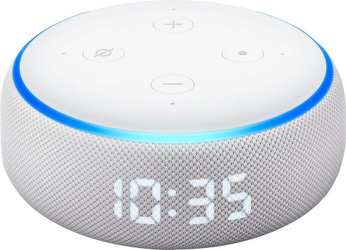 Echo Der Neue Echo Dot 3 Generation Bluetooth Lautsprecher Bluetooth Wlan Wifi Mit Uhr Online Kaufen Bluetooth Lautsprecher Lautsprecher Wlan