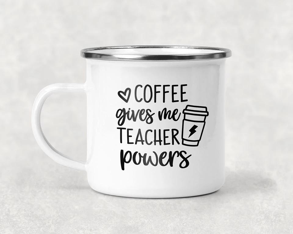 Coffee Gives Me Teacher Powers Mug