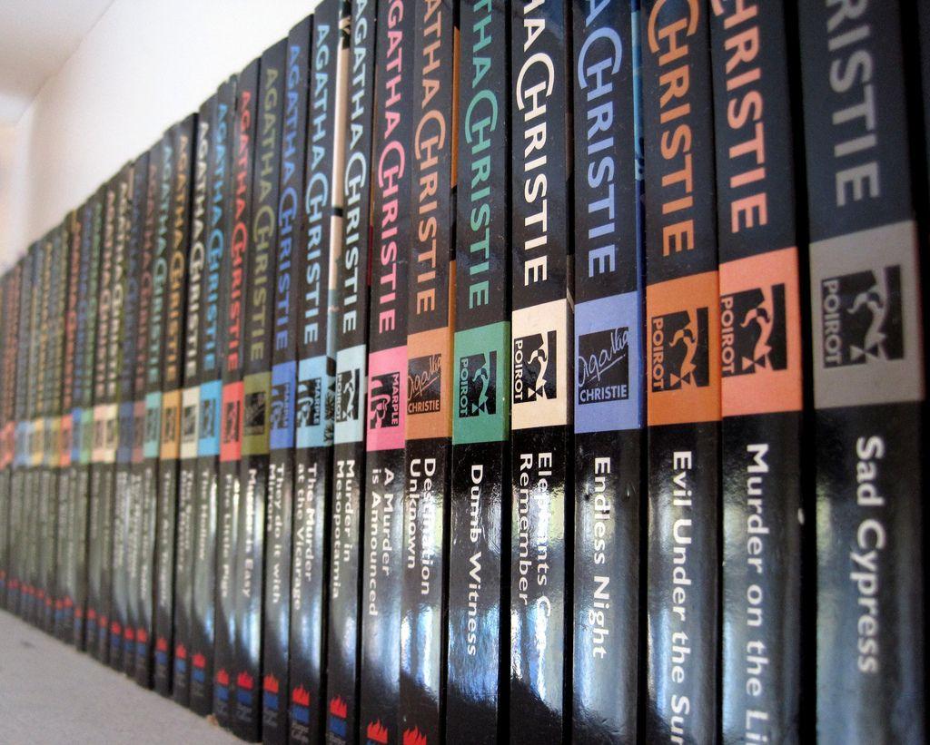 Agatha christie books agatha christie thriller books