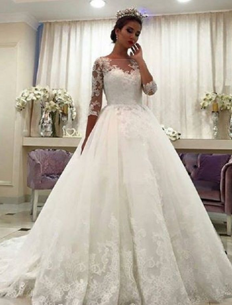 Gorgeous Ball Gown Wedding Dresses 75269913ce4c