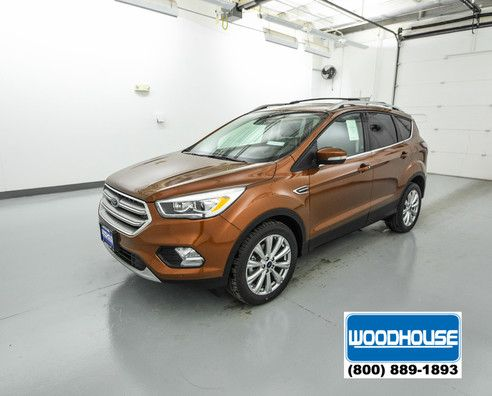 Bronze 2017 Ford Escape Titanium For Sale Blair Ne Woodhouse Ford 2017 Ford Escape Ford Escape Ford