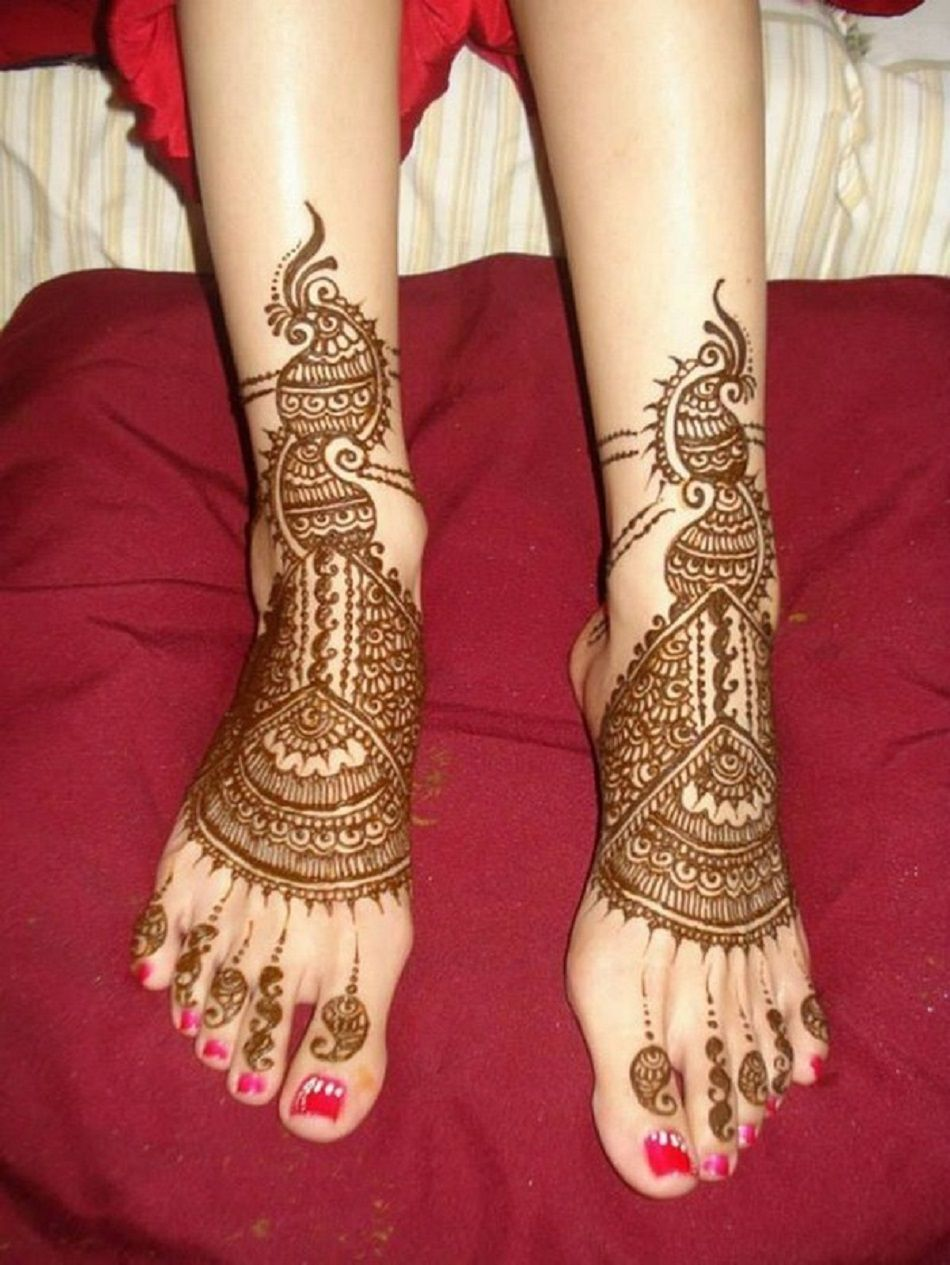 Mehndi design 2017 latest images - 30 Latest Mehndi Designs For Brides 2017 Sheideas