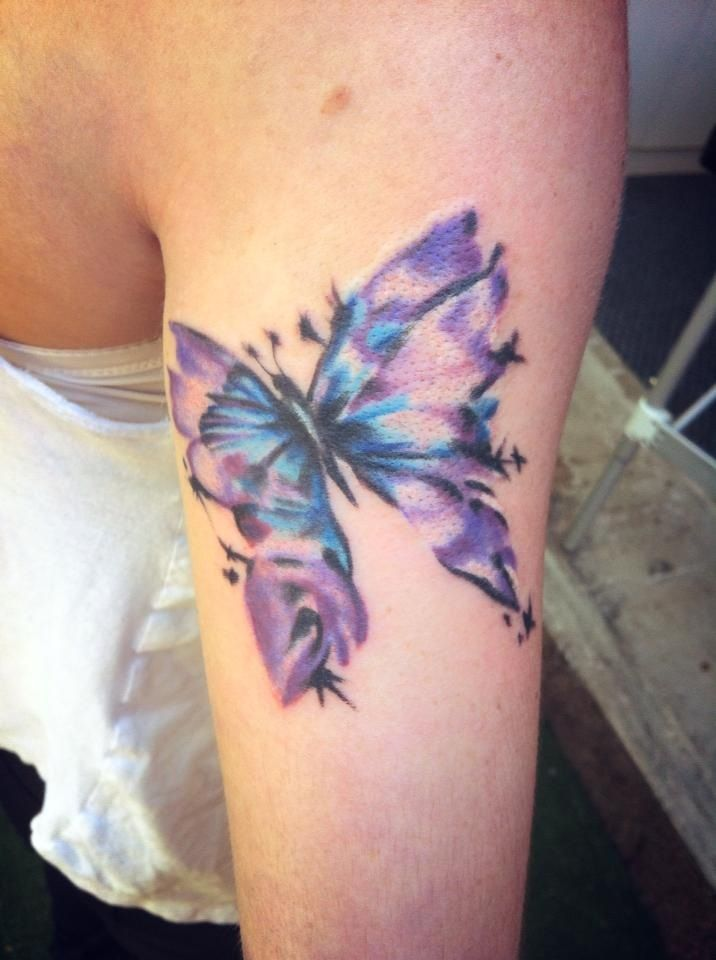 Lupus Butterfly Symbol Tattoo Images Pictures Becuo Tattoos