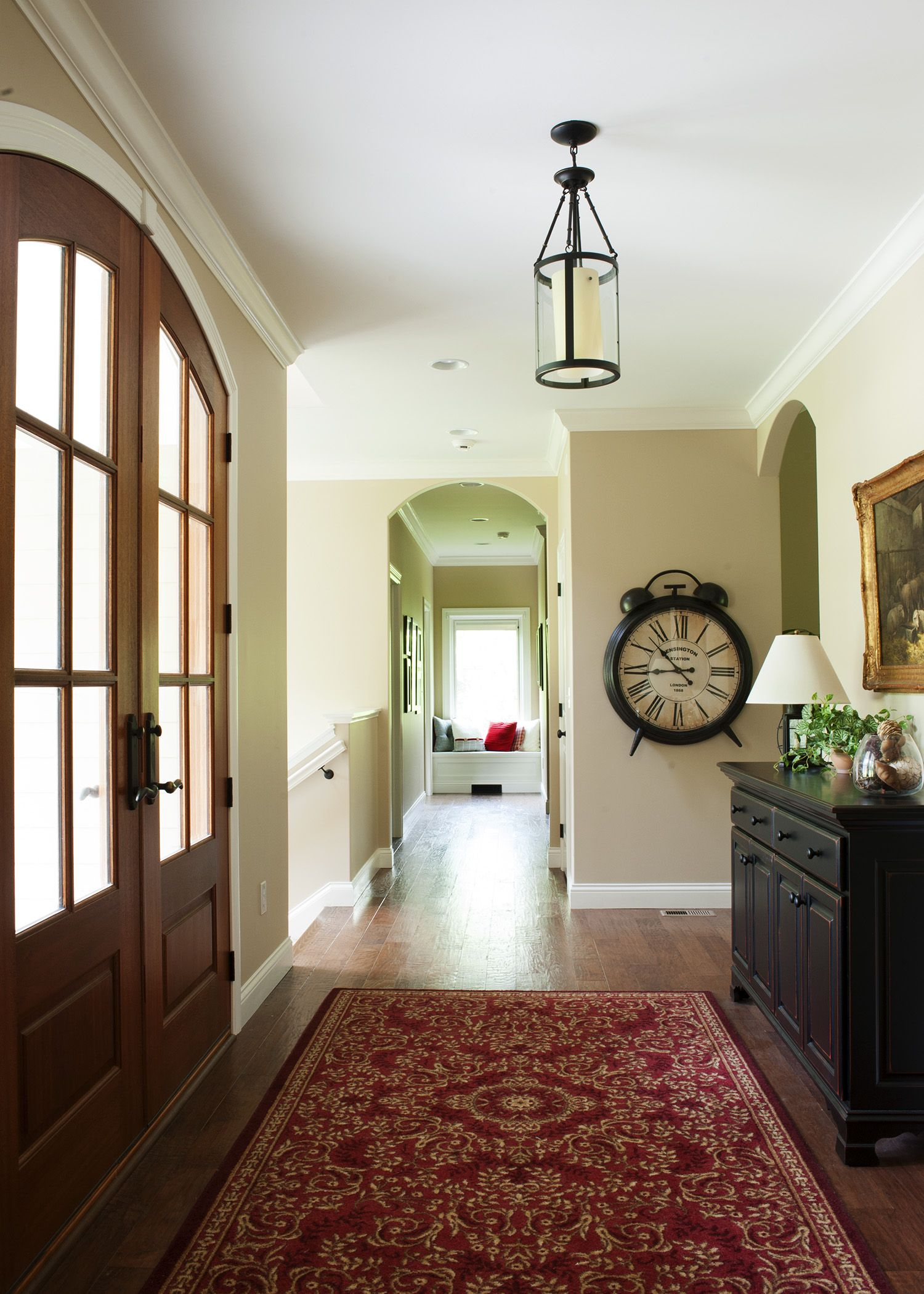 Gorgeous Double Entry Door Gives Immediate Access To All