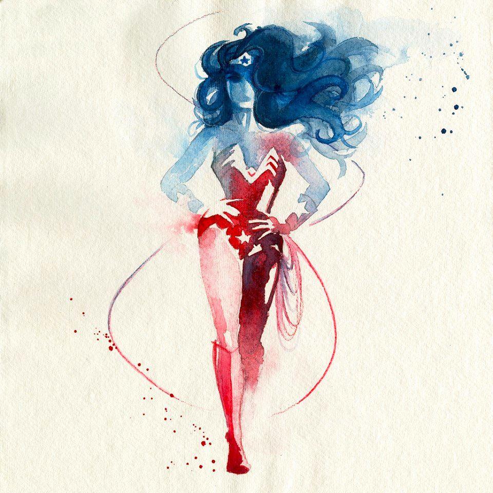 First wonder woman image by Jenni Gaertner on Tattoos