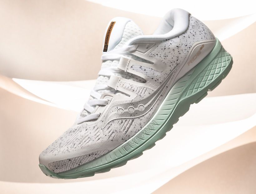 """Shoe Of The Moment: Saucony """"White Noise"""" Ride ISO   Saucony"""
