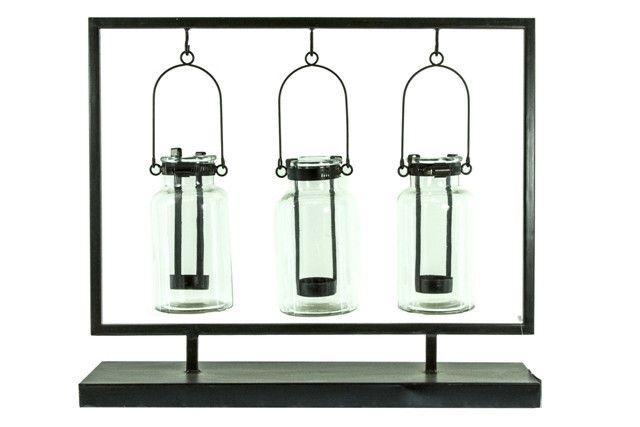 Hanging Lantern 3 Bottle