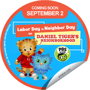 Unlock this special Daniel Tiger\'s Neighborhood Coming Soon sticker ...