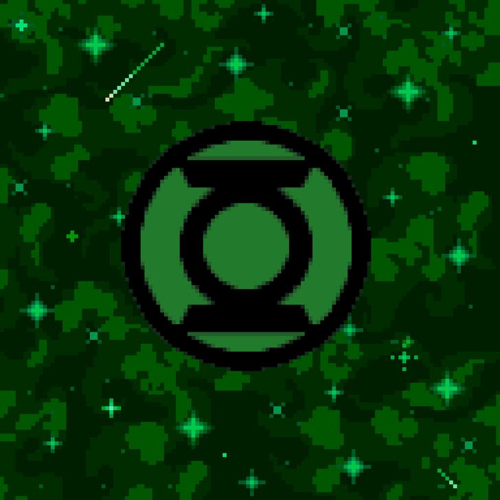 Linterna Verde Logo Space Green Lantern Logo Green Lantern Artwork