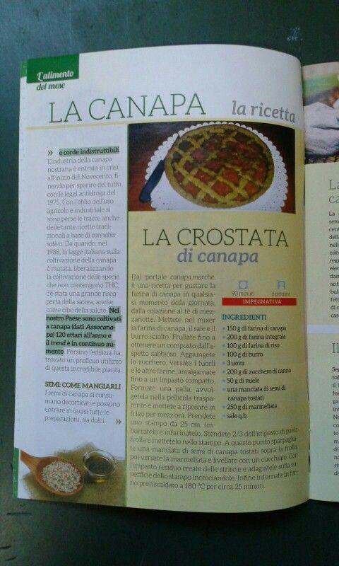 Crostata canapa