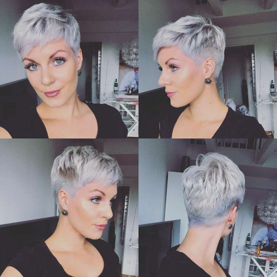 Short Hairstyle 2018 Short Pixie Haircuts Short Hair Styles Pixie Thick Hair Styles