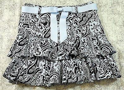 Inc International Concepts Skirt Paisley Layered Ruffled Tiered Womens Size 6