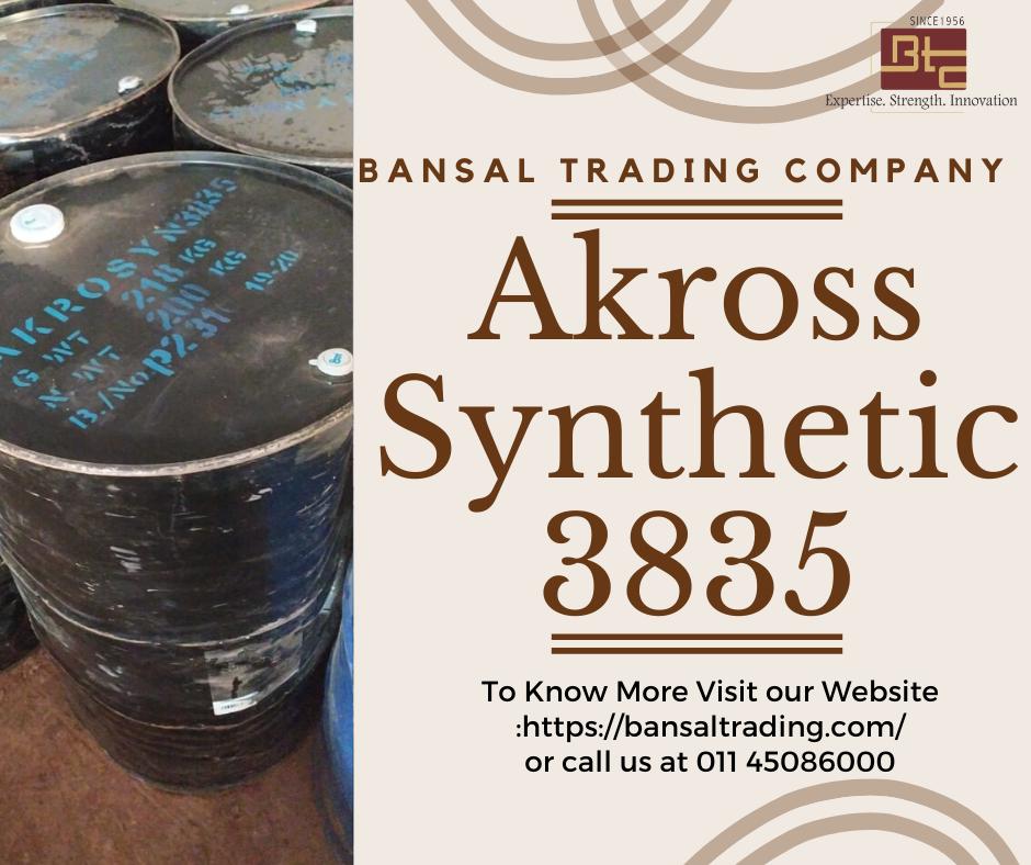 Akross Synthetics 3835 Alkyd Resin Bansal Trading Company In 2020 Alkyd Resin Trading Company Chemical Industry