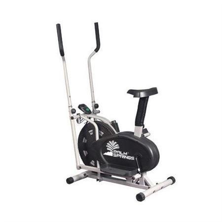 Palm Springs Fitness Dual Elliptical Cross Trainer Exercise Bike Walmart Com Biking Workout Elliptical Cross Trainer Exercise Bike Reviews