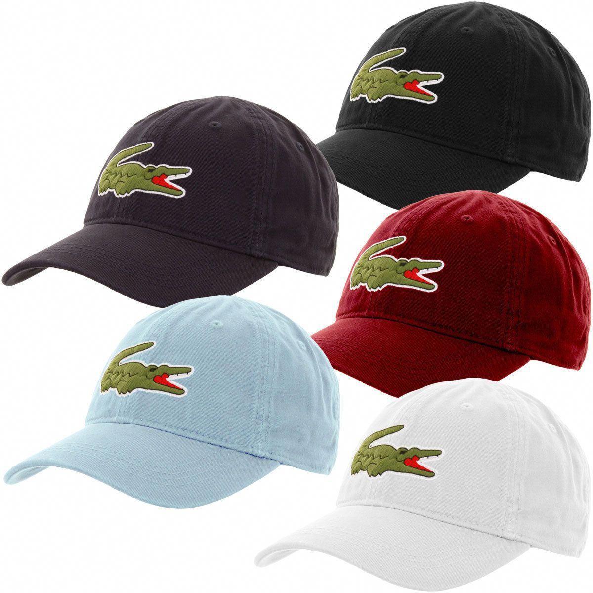 eda637da3d3b13 Lacoste Men's Big Croc Gabardine Cap Dadhats - One Size Hat Rk8217-51  #LandscapingIdeasAndTips