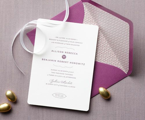 colored envelope, designed liner