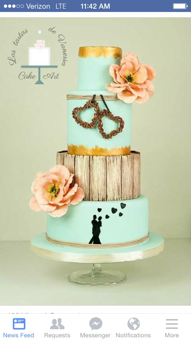 Pin by Randi McRobbie on Let them eat cake Wedding cake