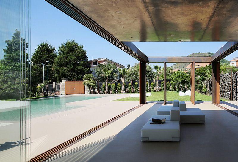 Perfect Wintergarten, Gartenhaus Und überdachte Terrasse In Einem Design