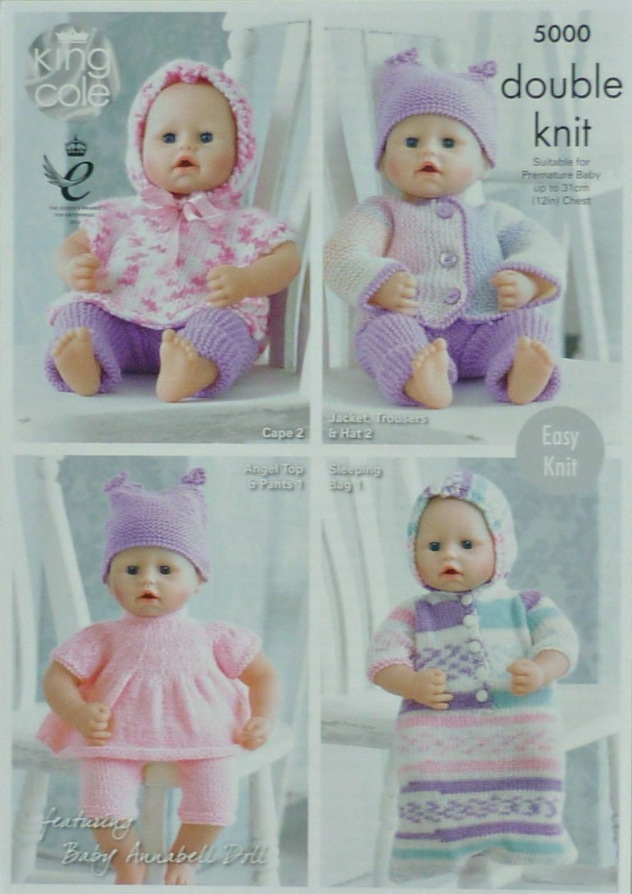 1 of 8 knitting pattern premature babys easy knit collection 1 of 8 knitting pattern premature babys easy knit collection outfits dk king cole 5000 bankloansurffo Choice Image