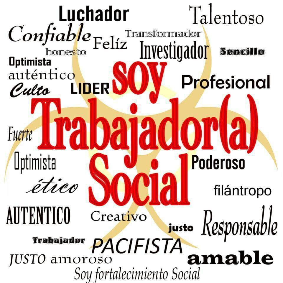 Soy Trabajadora Social Día Del Trabajador Social Feliz