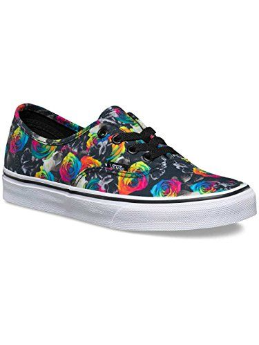 Vans Authentic Rainbow Womens Trainers Black Floral 3 UK     You can get  additional details at the affiliate link Amazon.com. b8d2017dbf