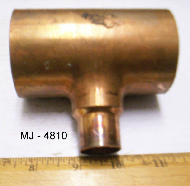 Mueller - Copper Reducer Tee (NOS) | Business & Industrial Supplies