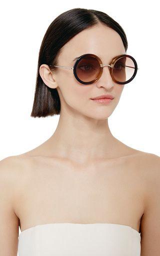 3adff2bf100 John Lennon Inspired Sunglasses X The Row by Linda Farrow Now Available on Moda  Operandi