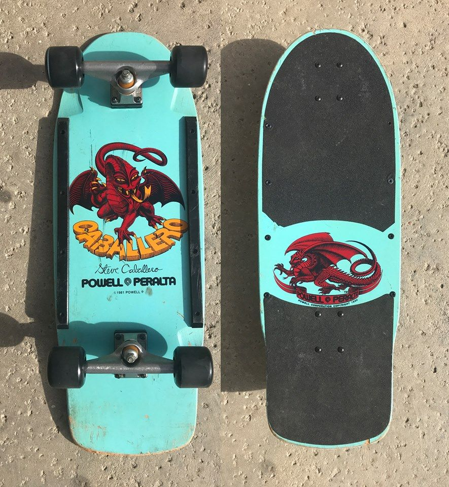 Powell Peralta Steve Caballero Vintage Skateboard 1980 S Vintage Skateboards Classic Skateboard Skateboard Pictures