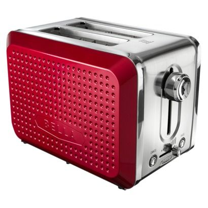 Bella Dots 2 Slice Toaster Fushia Pink Purple Kitchen
