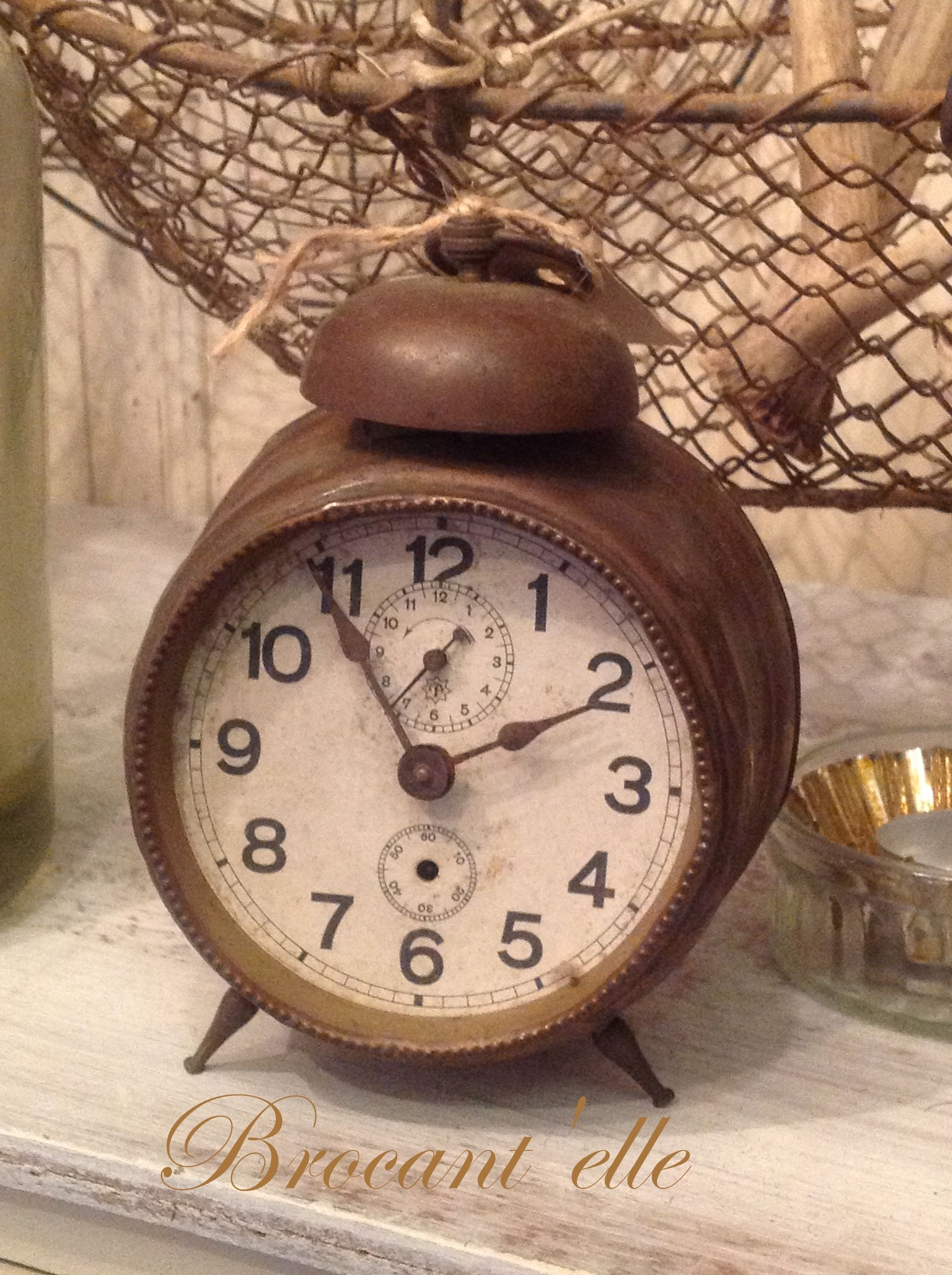 Pin By Becky Wright On It S About Time Vintage Alarm Clocks Old